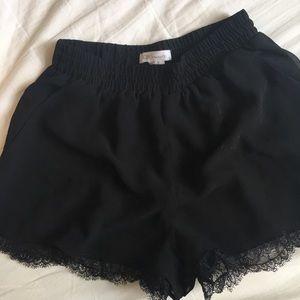 BCBG Lace Flowy Shorts